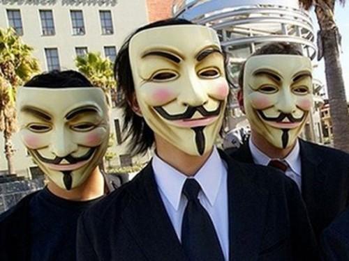 Legionarios, Anonymous, ciber activista