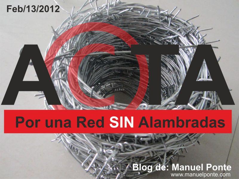 No a la ley ACTA