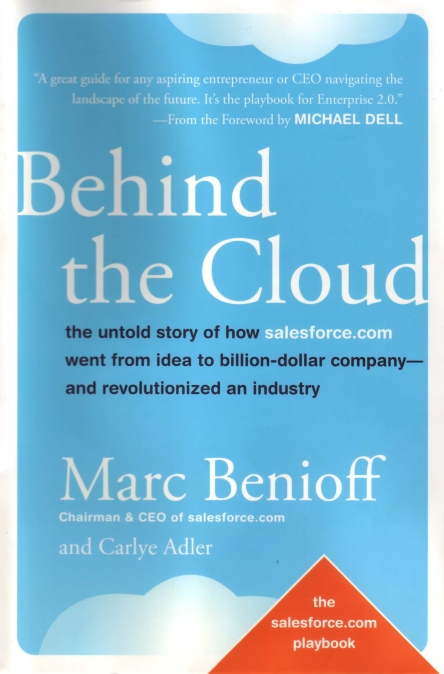 Behind the cloud, Marc Benioff