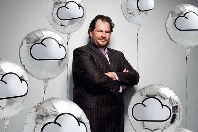 Marc Benioff salesforce.com