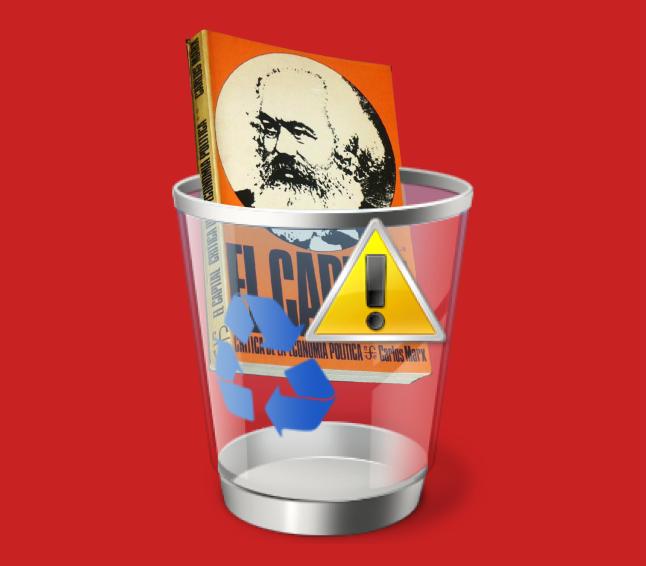 el capital de Marx y la papelera
