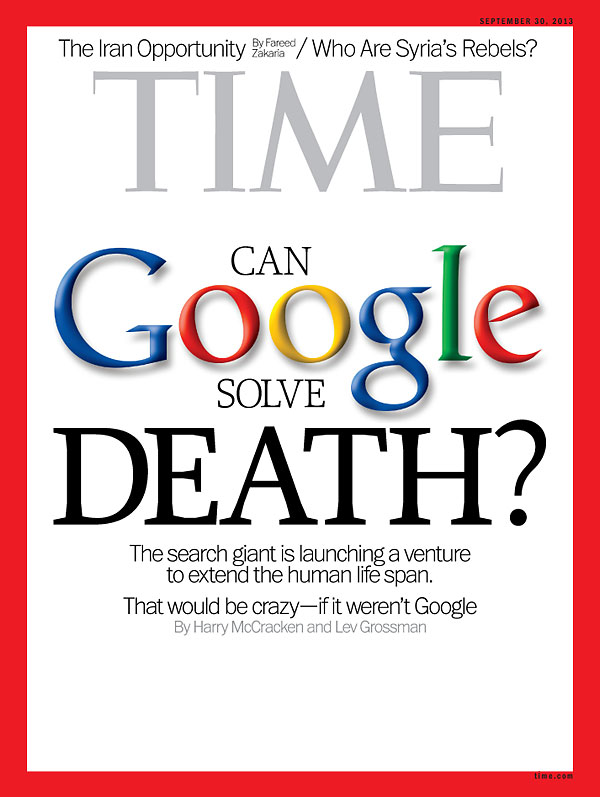 Time, Google vs. Death