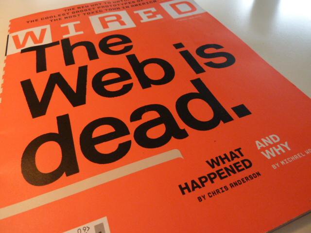 La web esta muerta