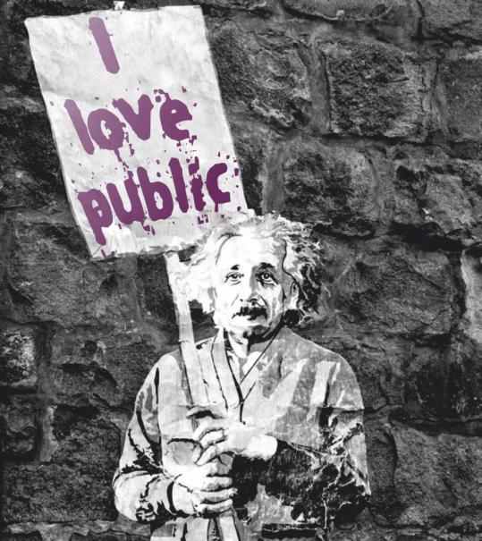 I love the public, new ethics