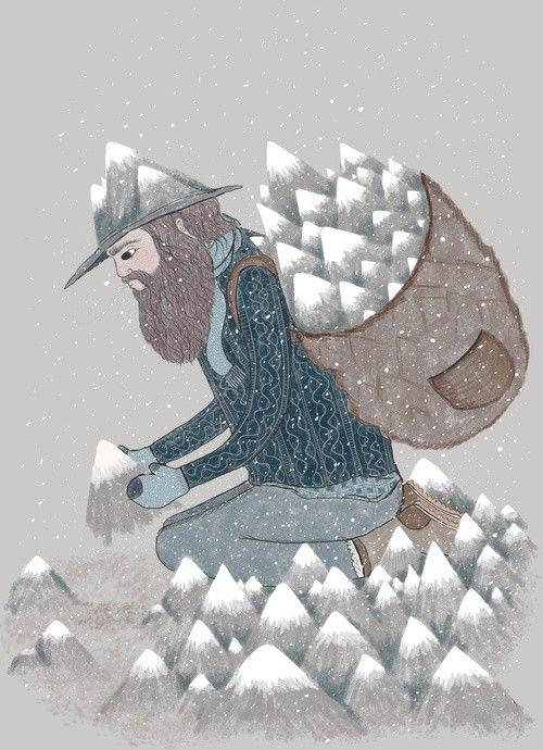 el sembrador de montañas
